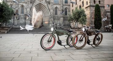 Stilpunkte: Die E-Bikes des Regensburger Herstellers Ruff-Cycles bieten nicht nur Qualität made in Germany, sondern Motortechnik vom Feinsten und Design mit Hinguckerqualität.