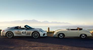 STILPUNKTE-Blog: Der neue Porsche Speedster 911, Modell 991 und 356 von 1954. Ein Ausflug in die Modellhistorie.
