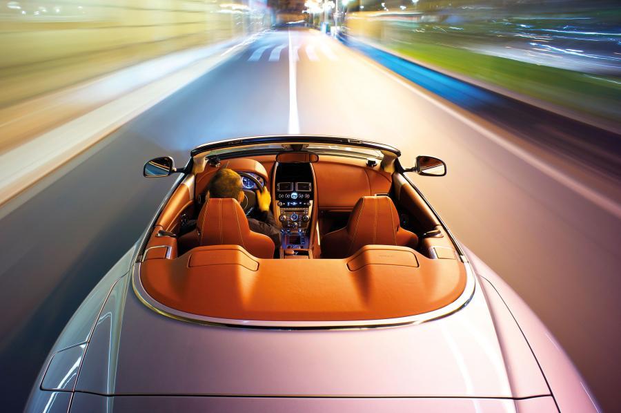 Luxus-Sportwagen  Vanquish Volante