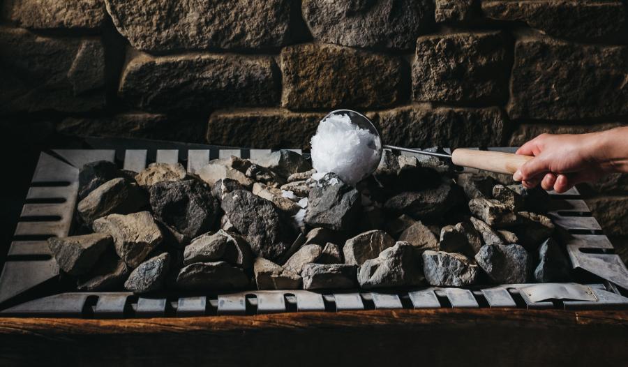 Entspannung für Körper und Geist Finnische Sauna