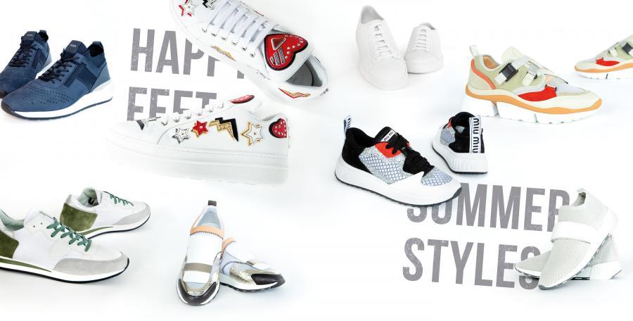 Treue Begleiter: Stylische Sneaker