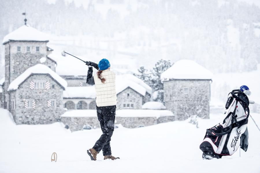 Snow Golf: Wenn aus dem Grün ein Weiß wird