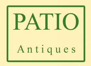 PATIO Antiques Logo