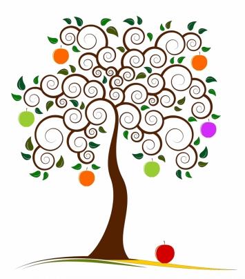 Apfelbäumchen - ganzheitliche Entwicklung Logo