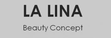 LA LINA Beauty Concept Logo