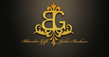 Blondes Gift by Julia Beckers Logo