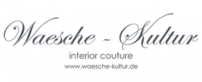 Waesche-Kultur - interior couture Logo