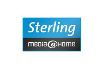 media@home Sterling Logo