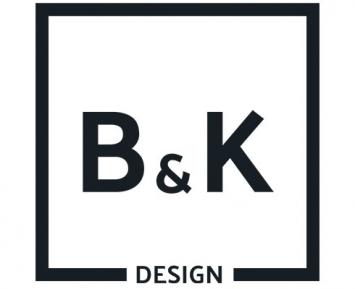 B & K Design Logo