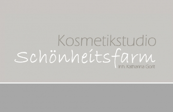 Schöhnheitsfarm Inh. Katharina Gorlt Logo