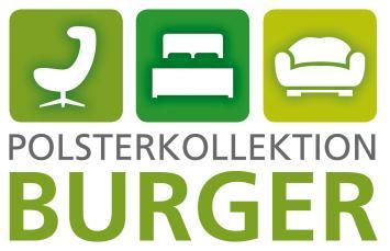 Polsterkollektion Burger Logo