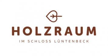 Holzraum im Schloss Lüntenbeck Logo