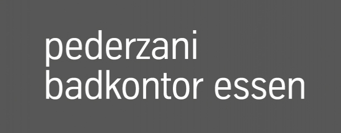 Pederzani Badkontor Essen Logo