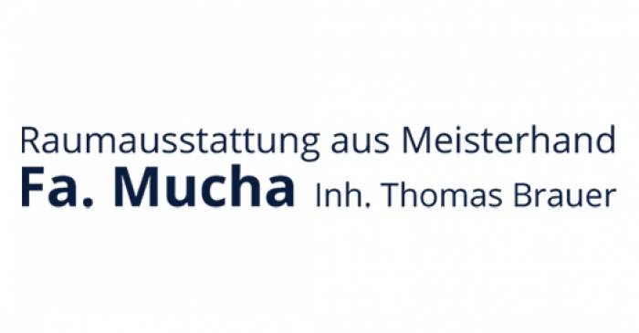 R. Mucha Raumausstattung Logo